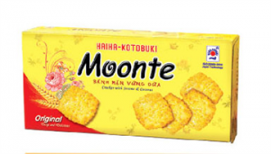 Moonte Cracker With Sesame and Coconut120gr