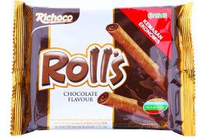 Rolls Chocolate Flavor