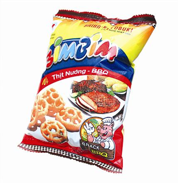 Snack with BBQ