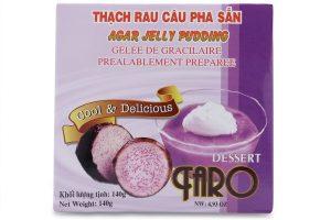 Agar Jelly Pudding Taro Flour