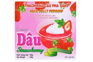 Agar Jelly Pudding Strawberry Dessert