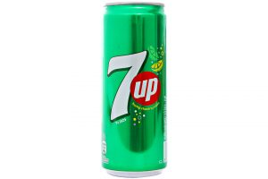 Soft Drink 7 Up Lemon Flavor 330ml