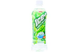 Fruit Juice Ice+ Grape Flavor Bottle 490ml
