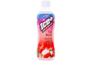 Fruit Juice Ice+ Litchi flavor bottle 345ml