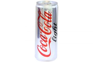 Soft Drink Coca Cola Light Can 330ml