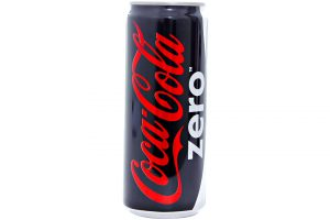 Soft Drink Coca Cola Zero Can 330ml