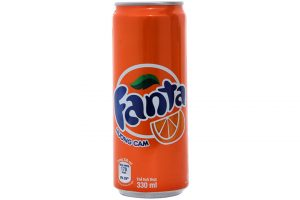 Soft Drink Fanta orange Flavor Can 330ml
