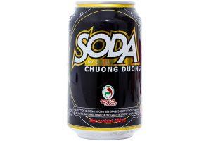 Soda Soft Drink Chuong Duong Can 330ml