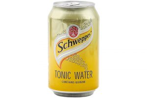 Soft Drink soda Schweppes Tonic Can 330ml
