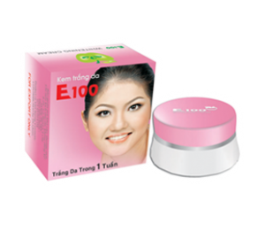 Vitamin E100 Whitening cream in 7 days