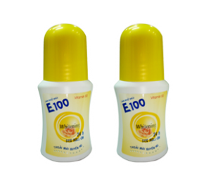 E100 Whitening Yelow Lable Deodorant