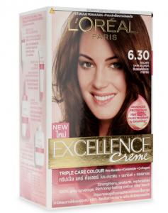L'Oreal Excellen Cecreme Hair Dye # 6.30 Golden Dark Blonde 172ml