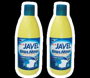 Binh minh Javel bleach
