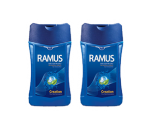 Ramus Cool Mint Shampoo Bottle