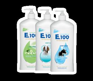 E100 cow's Milk Shower Gel