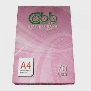 Paper photo Bai Bang A4 8470 (210x297mm) Quantify: 70g/m2