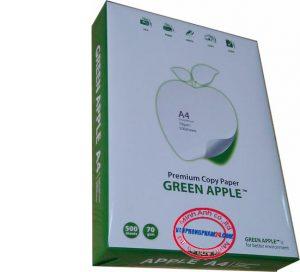 Paper photo  Green Apple A4  (210x297mm) Quantify: 70g/m2
