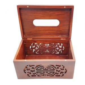 Wooden chopsticks Box Made in Vietnam