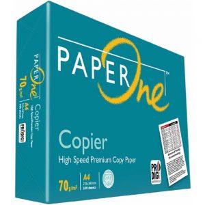 Paper One A4  (210x297mm) Quantify: 70g/m2