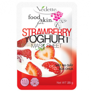 Food for skin Strawberry Yoghurt mask sheet 25g