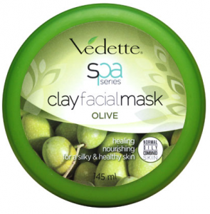 Spa clay facialmask olive 145ml
