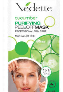 Vedette cucumber Purifying Peel Offmask Professional skin care 12g