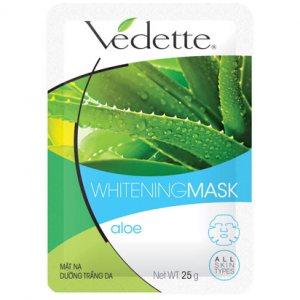 Whitening mask aloe 25g