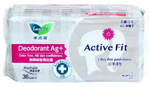 Sanitary Daily Laurier Active Fit 36 pieces