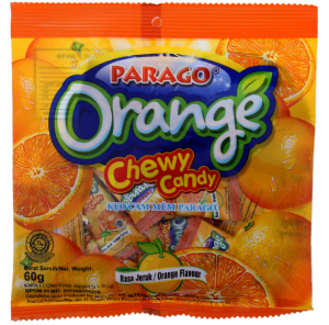 Chewy Candy Orange Flavor 60g