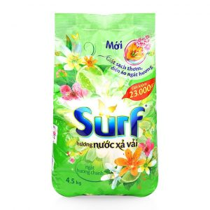 Detergent Powder Surf Lemon Flavor 4,5 kg