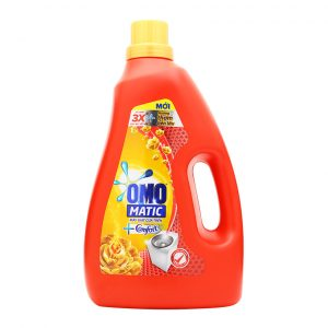 Detergent Liquid OMO Matic Comfort Aromatic Oils  For Top Loading 2.4kg