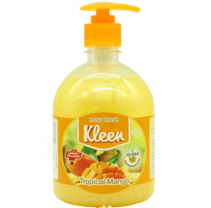 Hand Wash Kleen Tropical Mango 500ml