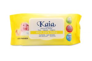 Kaia Tissue Wipes Bag 80 Sheets (yelow)