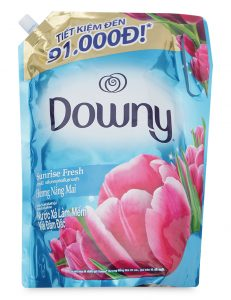 Fabric Softener Downy Sunrise Fresh 2.4Lx 4bag
