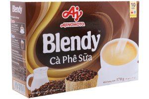 Milk Coffee Blendy box 170g (10 sachet)
