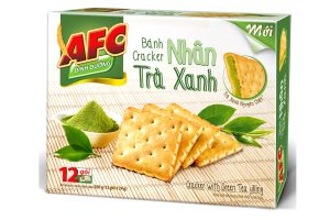 Biscuit AFC Cracker Filling Geen Tea 288g (12 sachet)