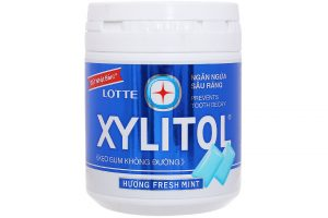 Sugar free gum Xylitol Fresh Mint 145g