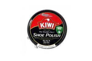 Shoe polish shine nourish protect black 36g