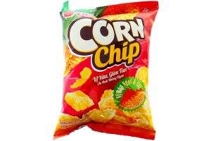 Snack Orion Corn Chip Spicy Sweet flavored 38g