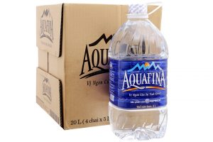 Aquafina pure water bottle 5 liters (4 bottles)