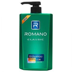 Romano classic deluxe men shampoo 650g