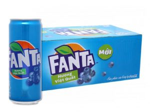 Fanta Blueberry Flavor 330ml