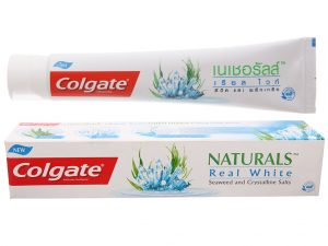 Colgate Toothpaste Naturals Real White 180g