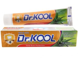 Dr.Kool Toothpaste Herbal Aloe Vera 150g