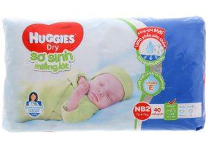 Huggies's Newborn Pads Size NB2 4 – 7kg 40 Pcs