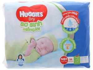 Huggies newborn pads Size NB1 less than 5kg 56 pcs