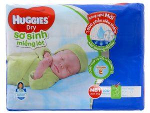 Huggies Dry's Newborn Pads Size NB less than 5kg 100 pcs