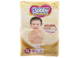 Bobby's Baby Diapers Extra Soft Dry Size XL 12 – 17kg 52 pcs