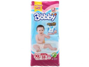 Bobby's baby diapers Fresh Size XL 12 – 17kg 38 pcs