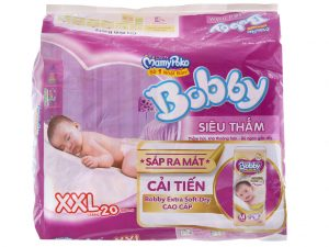Bobby's Baby Diapers Fresh Size XXL more than 16kg 20 pcs
